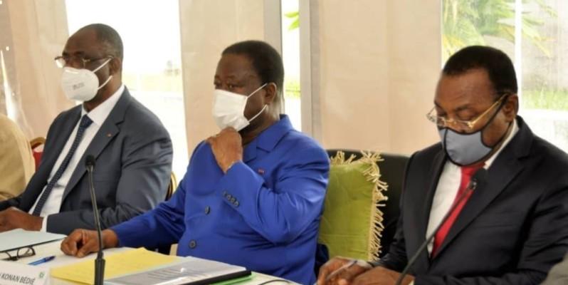 Des leaders de partis de l'opposition ont échangé avec la mission de la Cedeao. (DR)