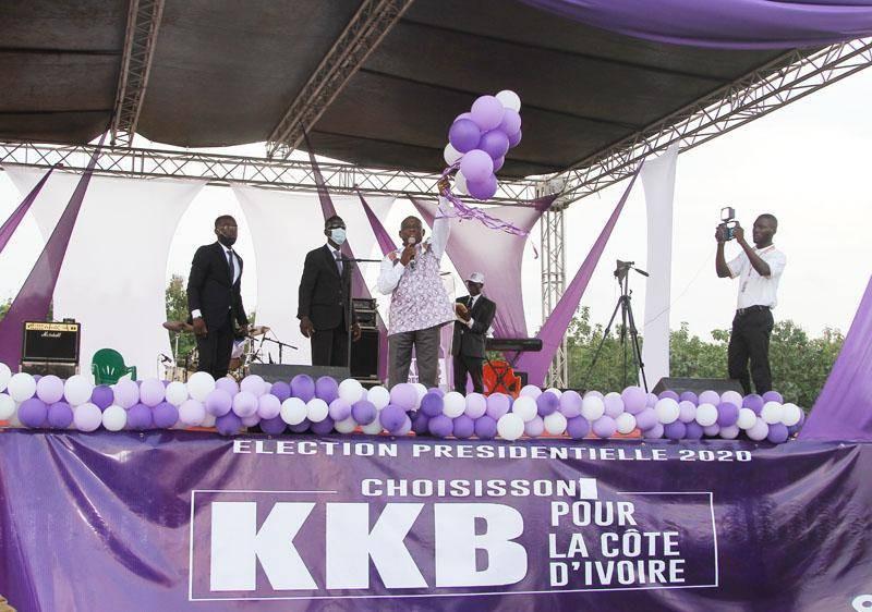 Le candidat KKB est attendu à Korhogo.(DR)