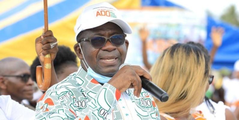 Hien Sié, directeur de campagne adjoint du Sud-Comoé, a mis en ordre de bataille les structures spécialisées pour relever le défi d'un score sans appel.(DR)
