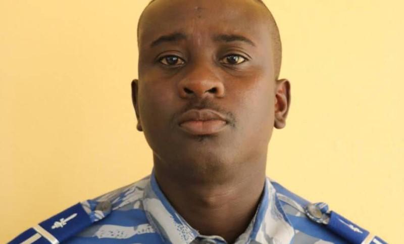 Le jeune officier ivoirien de la gendarmerie est décédé le 8 octobre, suite à un accident de la circulation sur l'axe Yamoussoukro-Bouaflé. (Dr)