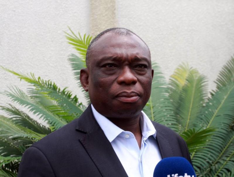 Le candidat Konan Kouadio Bertin dit KKB (Ph Sébastien Kouassi)