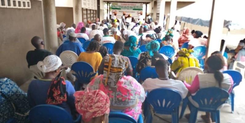 les victimes de crises ivoiriennes qui ne veulent plus revivre de crises sont venues en masse (DR)