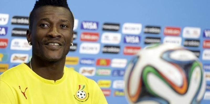 Asamoah Gyan se dit enthousiaste d'entamer ce nouveau chapitre de sa carrière. (Dr)
