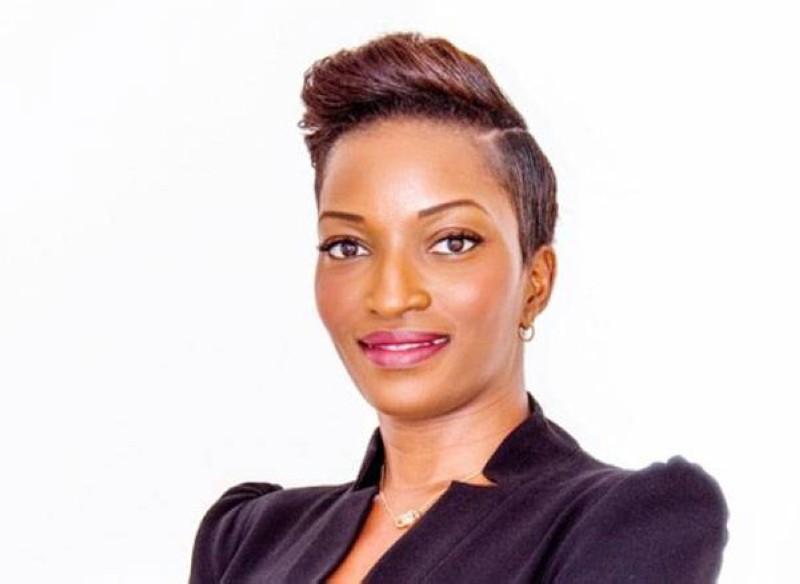Fatim Cissé, marraine du concours Miss 2.0. (Dr)