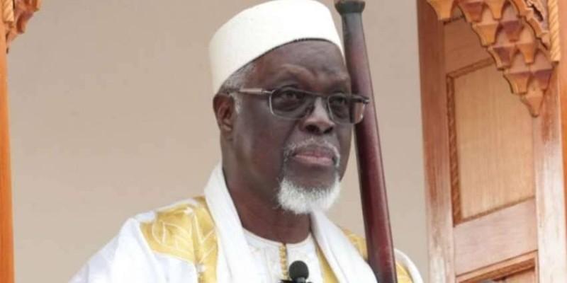 Le président du Cosim, Cheickhoul Aïma  Mamadou Traoré. (Dr)