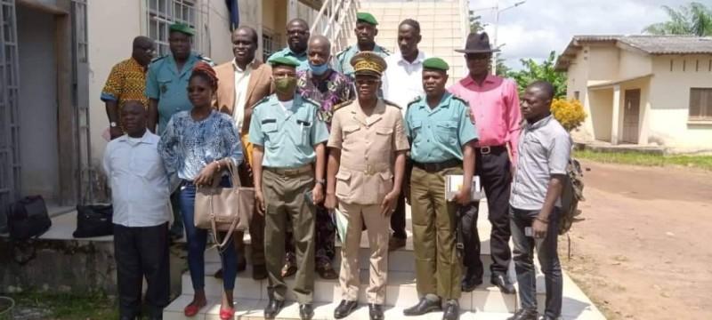 Le préfet Ibrahima Cissé a mis en garde les ex-clandestins. (Dr)