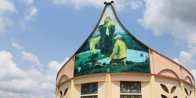 Le Sanctuaire Notre Dame de la Garde de Bonoua. (Dr)
