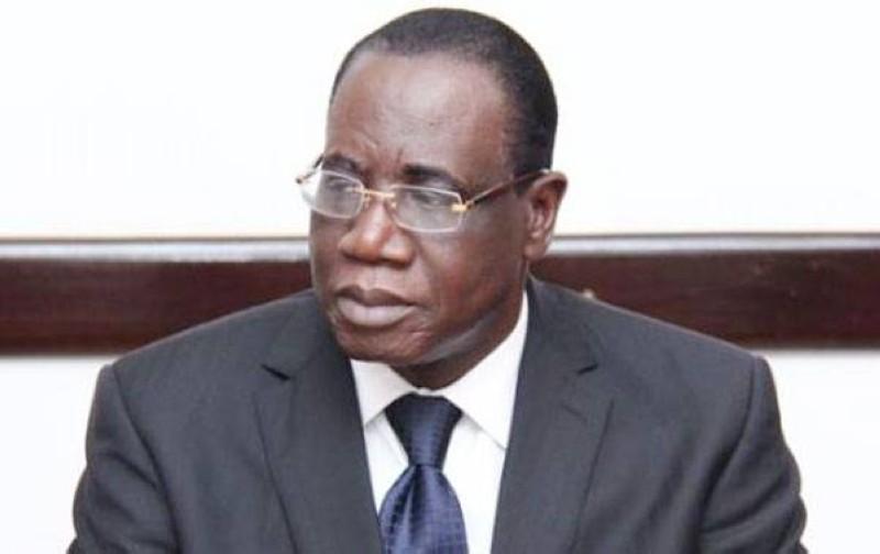 L'Inspecteur général d'Etat, Théophile Ahoua N'Doli. (Dr)