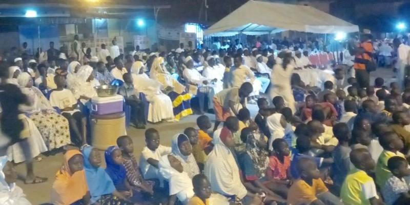 Des fidèles musulmans venus de partout pour célébrer le Maouloud. (Marcel Bénié)