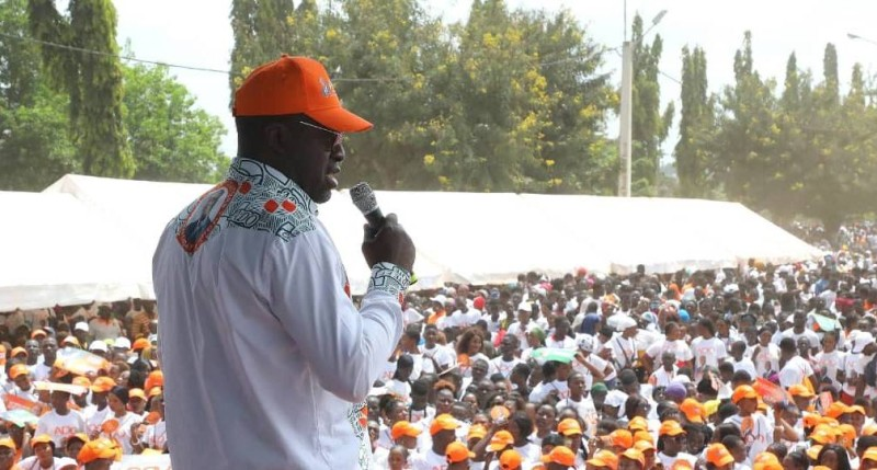 Alain-Richard Donwahi, président des élus et cadres Rhdp du Grand Ouest