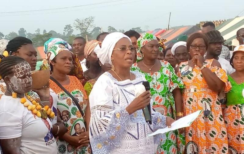 Maimouna Faber-Koné, l'émissaire du chef du gouvernement