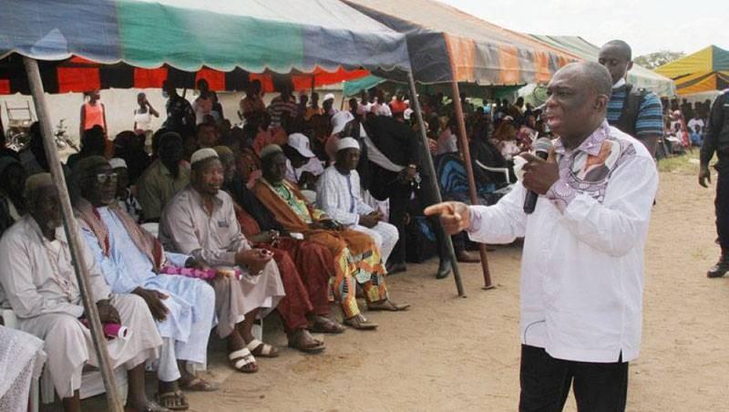 KKB était à Koumassi pour l'apothéose de sa campagne. (Dr)
