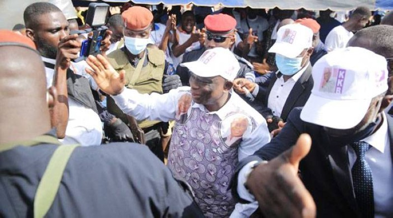 Kouadio Konan Bertin dit KKB se dit prêt pour le fauteuil présidentiel. (Dr)