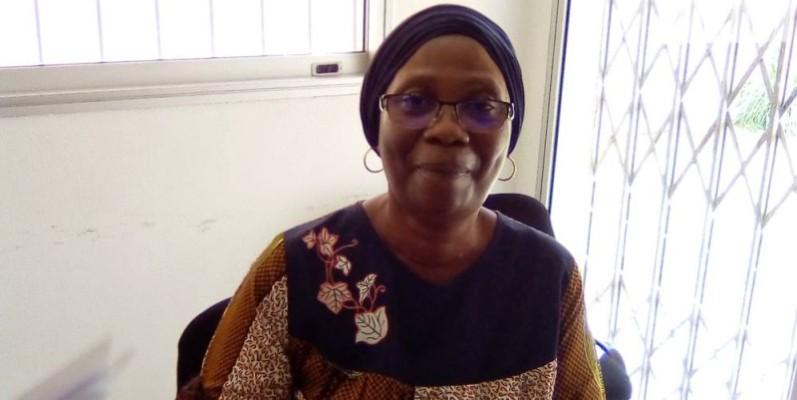 Dr Dogore Eliane Maryline, chargée des relations avec le gouvernement à EngenderHealth. (Franck YEO)