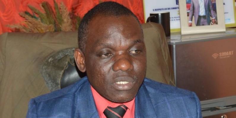 Bakayoko Abdoulaye, Pca de Fsu de Yopougon Andokoua. (Photo: Julien Monsan)