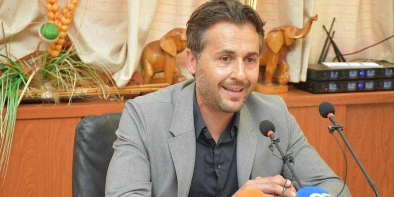 Patrice Beaumelle, le sélectionneur des Eléphants de Côte d'Ivoire. (FIF)