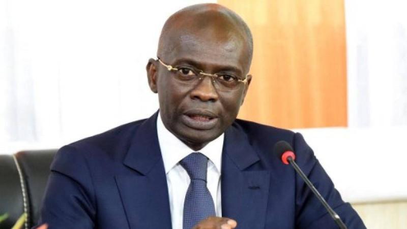 Richard Adou, procureur de la République, expliquant pourquoi il n'a pas arrêté le président du Pdci-Rda, Henri Konan Bédié. (Dr)