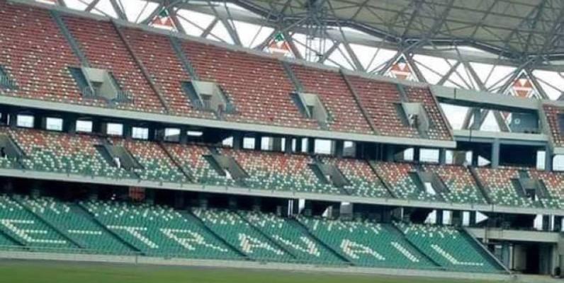 Le stade d'Ebimpé accueillera le choc du groupe K entre la Côte d'Ivoire et Madagascar. (Dr)
