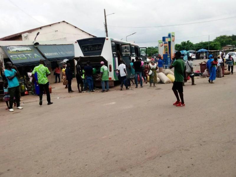 Les grandes compagnie à Agboville ont repris du service. (Dr)