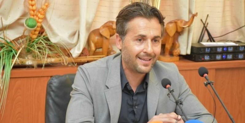 Patrice Beaumelle, entraîneur des Eléphants de Côte d'Ivoire. (Dr)