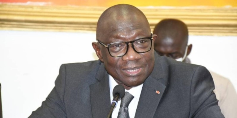 François Albert Amichia, directeur régional de campagne du candidat du Rhdp à Treichville et Marcory. (Dr)
