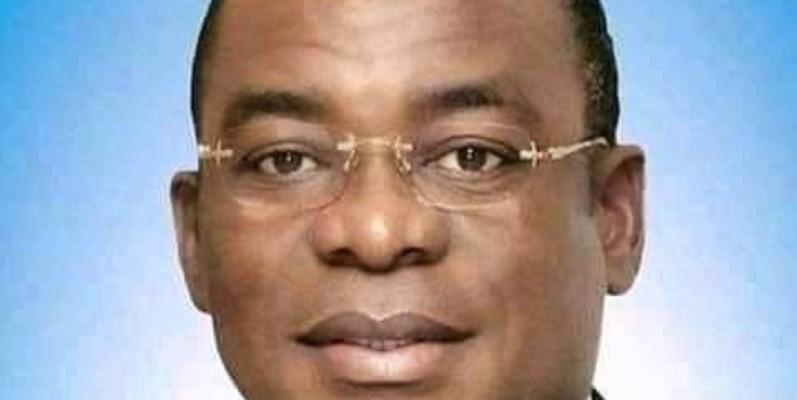Le président du FPI, Affi N'Guessan. (Sercom)