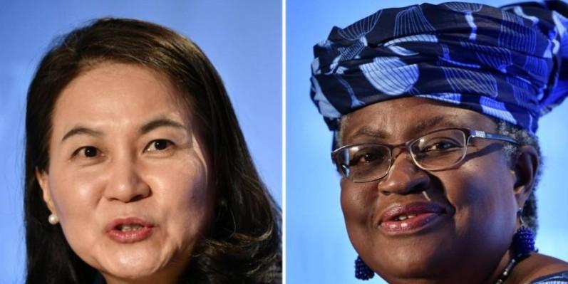Les deux candidates au poste de directrice générale de l'Omc. (DR)