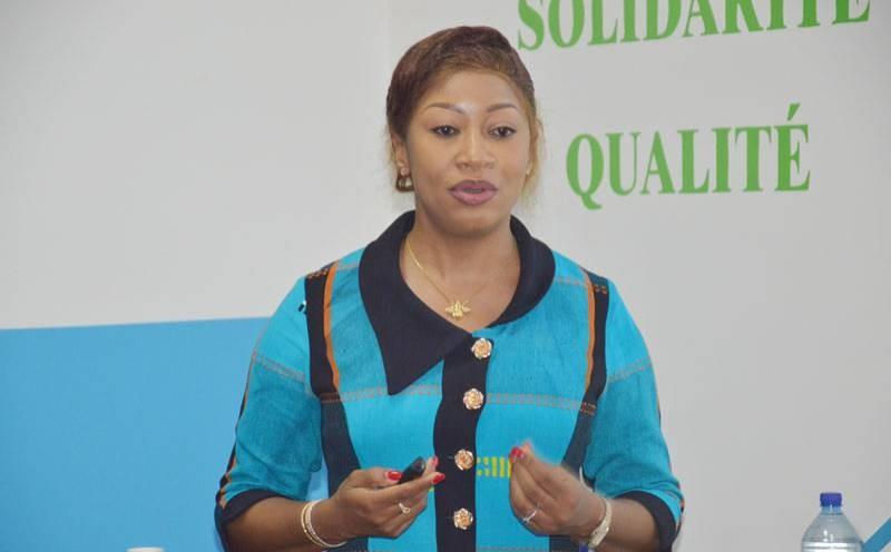 Dr Anne-Maryse K'Haboré, DG de la Centrale d'achat des médicaments essentiels génériques du Burkina Faso. (Dr)