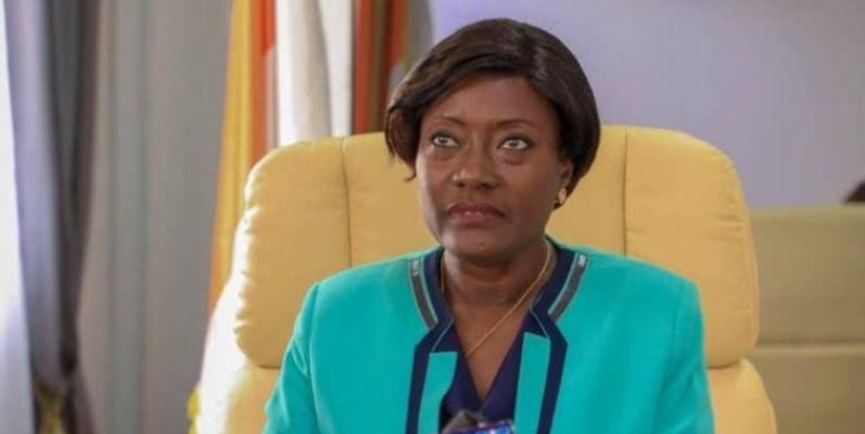 Pr Mariatou Koné, ministre de la Solidarité, de la Cohésion sociale et de la Lutte contre la pauvreté. (Dr)