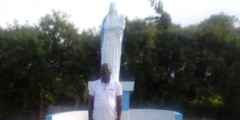 La grotte mariale Notre Dame de la Garde. (Dr)