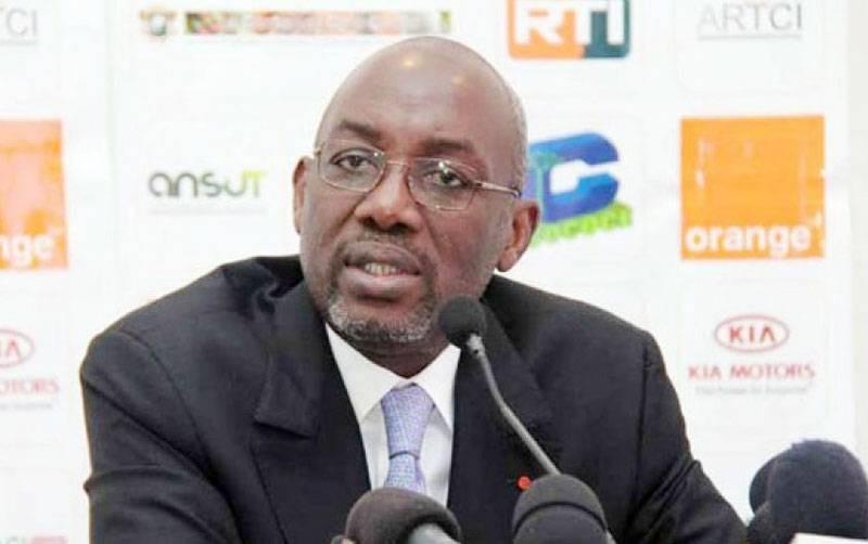 Augustin Sidy Diallo, président de la Fédération ivoirienne de football. (Dr)