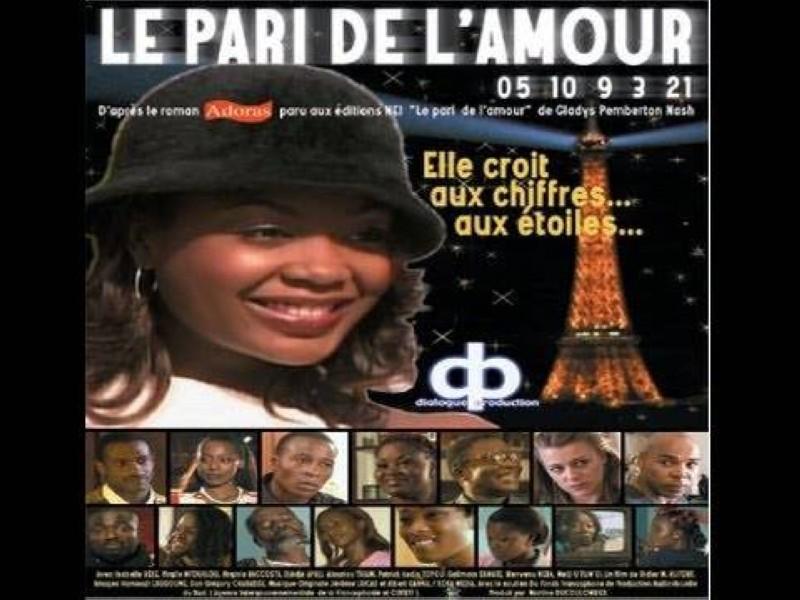L'affiche du film ''Le Pari de l'Amour''. (Dr)