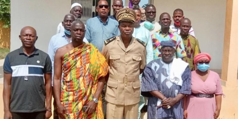 Ces membres du comité sont chargés de prévenir les conflits dans le département. (Dr)