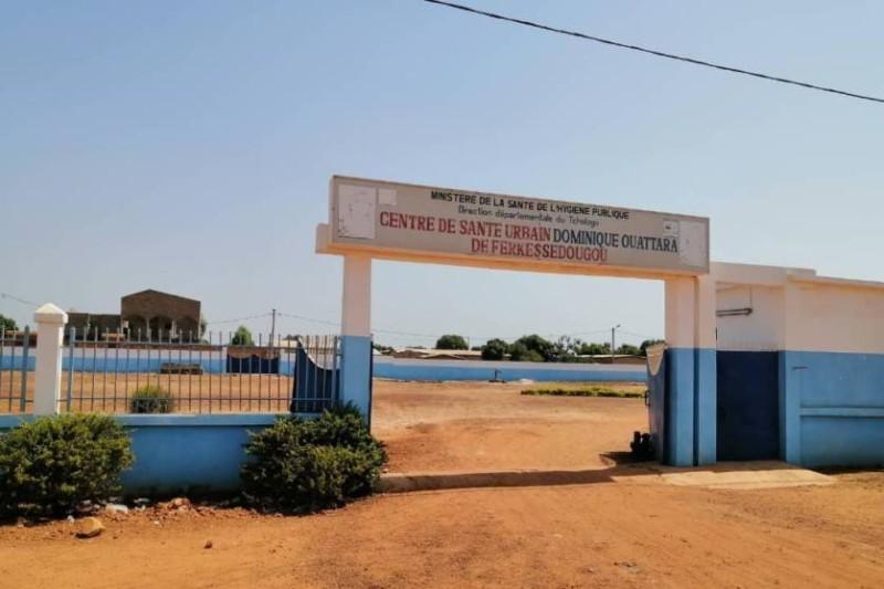 Cette formation sanitaire est en attente d'une ambulance pour l'évacuation des malades. (Dr)