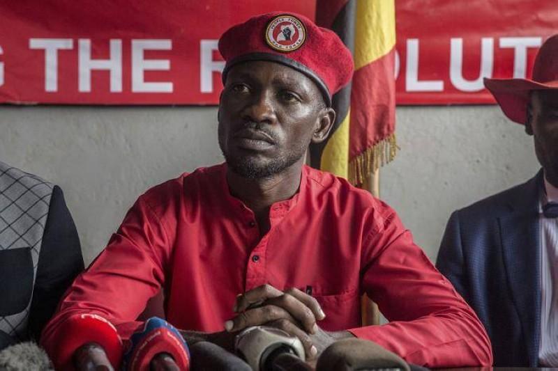 Bobi Wine, le chanteur et candidat à la présidentielle ougandaise. (Dr)