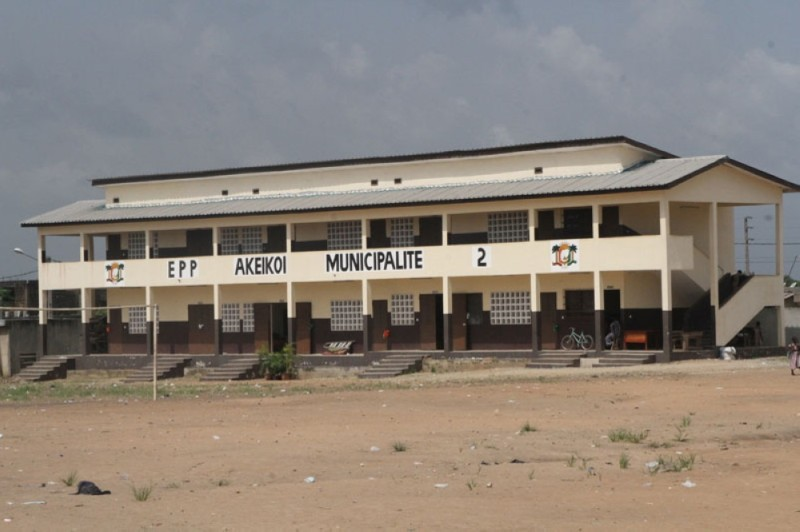 Une des écoles inaugurées par le Premier ministre. (Photos : Joséphine Kouadio)