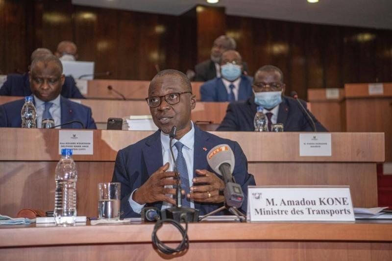 Le ministre des Transports Amadou Koné (DR)