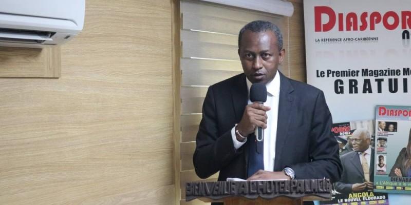 Siriki Sangaré, président de la Chambre nationale des promoteurs et constructeurs agréés de Côte d'Ivoire. (Bavane)