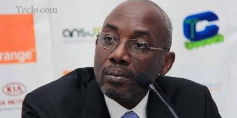 Augustin Sidy Diallo, président de la Fédération ivoirienne de football (Fif)