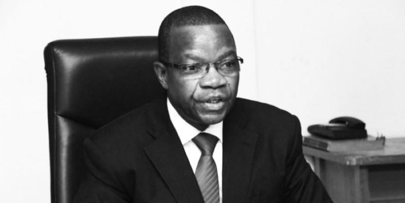 Le ministre de l'Environnement et du Développement durable, Pr Joseph Séka Séka. (Dr)