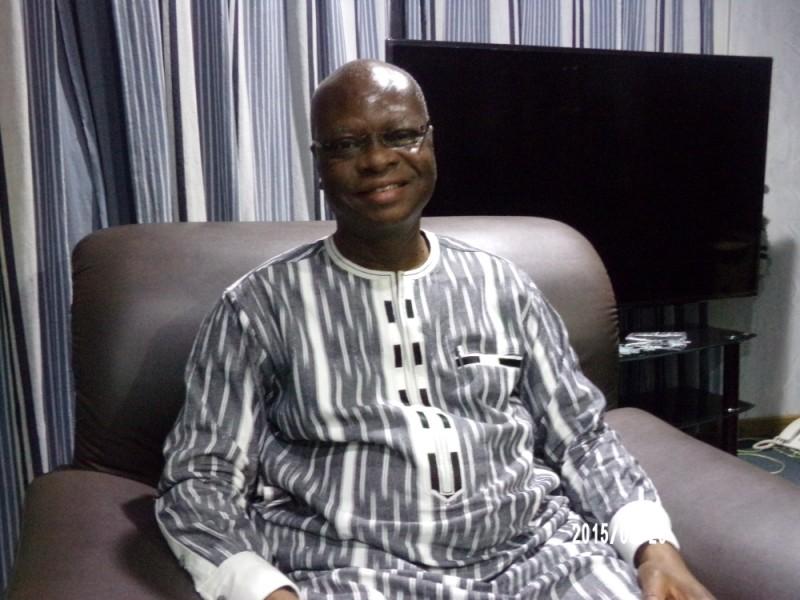 Paul Robert Tiendrebeogo, ministre en charge des Burkinabè de l'Extérieur. (Dr)