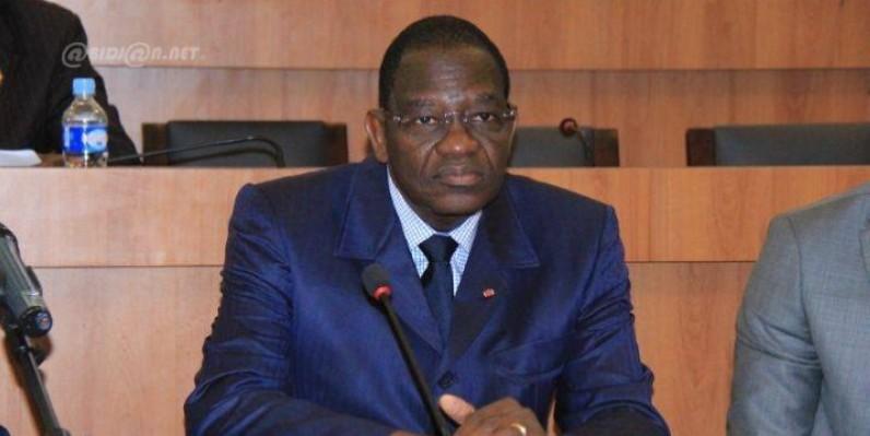 Le ministre de la Promotion de la riziculture, Gaoussou Touré. (DR)