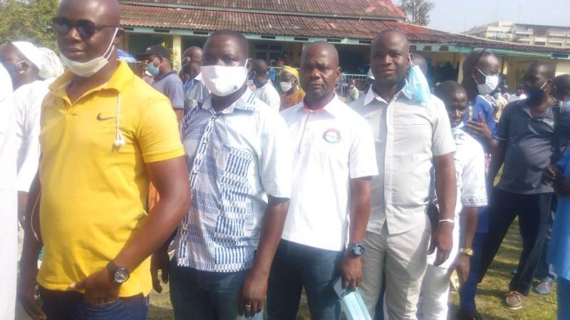 Les Burkinabè vivant à Abidjan se sont massivement déplacés. (DR)