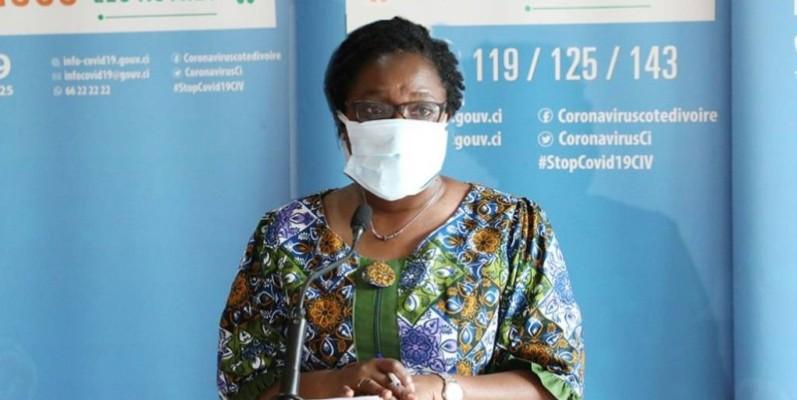 Dr Edith Clarisse Kouassy, conseiller technique du ministre de la Santé et de l'Hygiène publique. (DR)