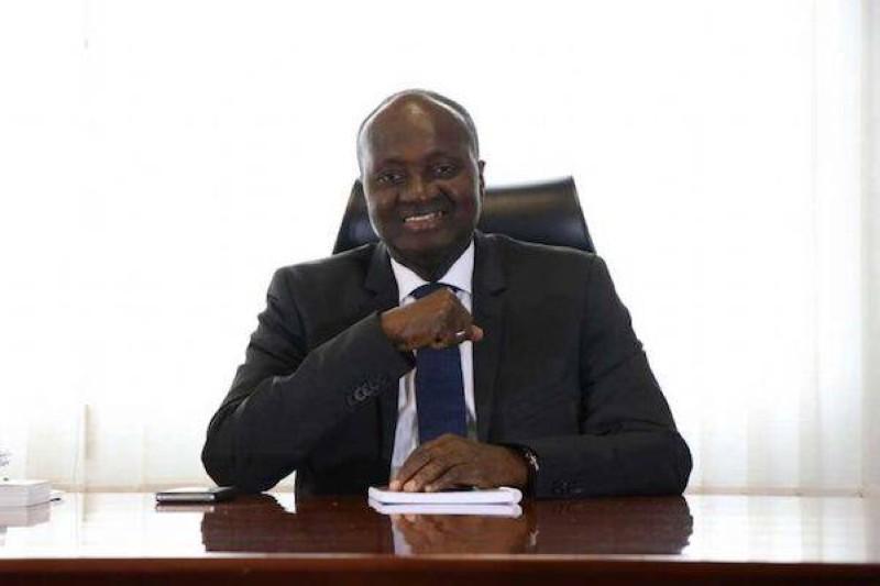 Faman Touré, président de la Chambre de commerce et d'industrie de Côte d'Ivoire. (DR)