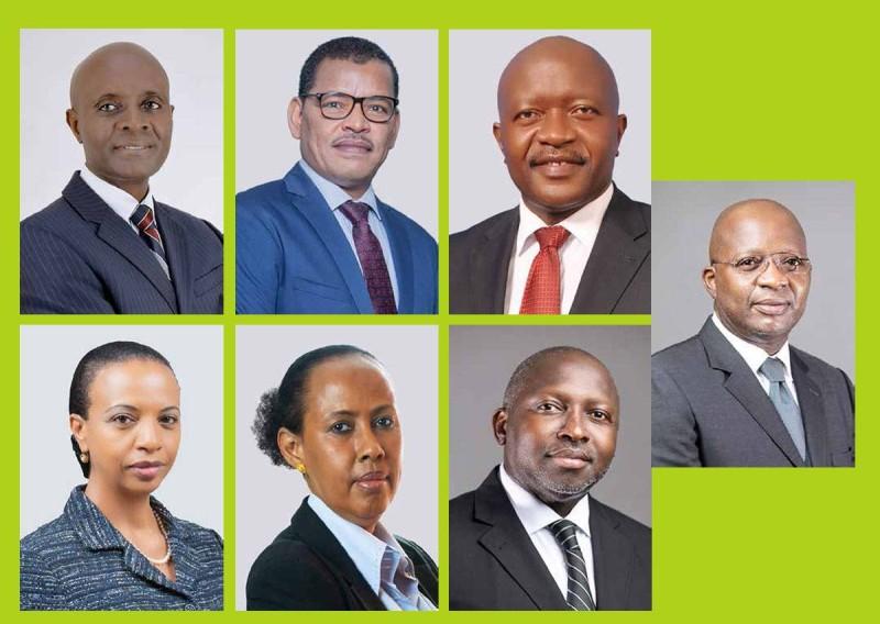 Les chefs de  bureau pays en Centrafricaine, Ghana, Madagascar, Mali, Sierra Leone, Togo et Ouganda
