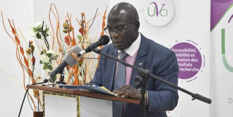 Pr Arsene T. Kobea, directeur de cabinet du Mesrs. (DR)