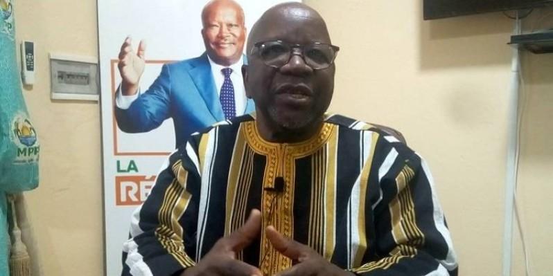 Simon Compaoré, le directeur de campagne du candidat du parti au pouvoir (DR)