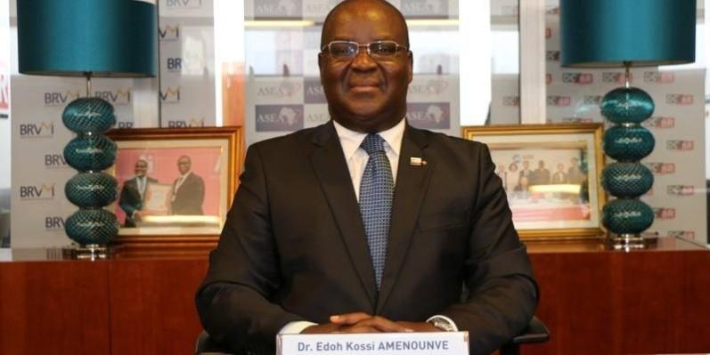 Dr Edoh Kossi Amenounve, nouveau président de l'Asea. (DR)
