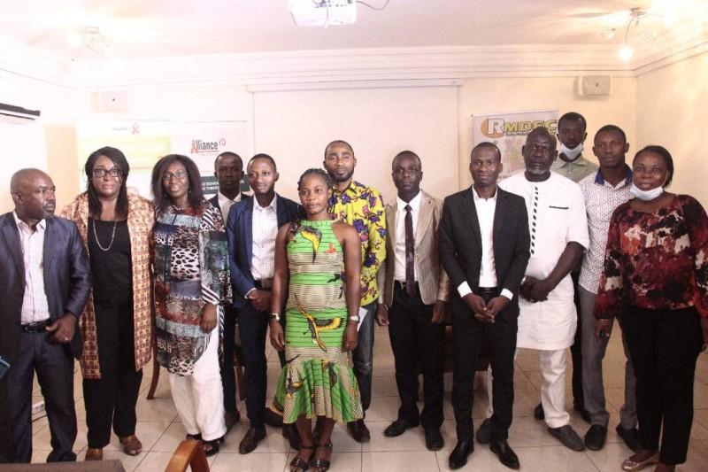 Photo de famille Rmdec et l'Alliance Côte d'Ivoire